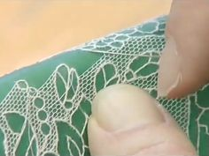 needle lace    Ten Stages of Alencon Lace
