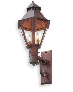 The Broad Street Lantern Gas Or Electric The