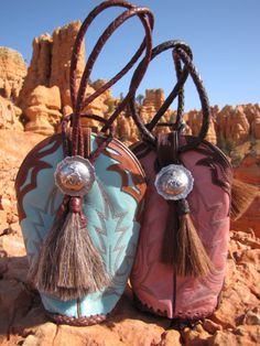 Cowgirl Boot Purses from Brit West - unusual and definitely cowgirl chic.