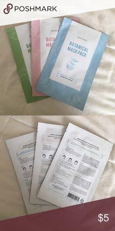 3 bonvivant face masks Three sheet face masks from Bonvivant never opened. Really nice masks made from organic oils Sephora Makeup