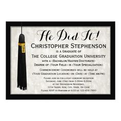 139 best traditional graduation invitations images in 2018