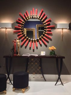 One of the many stunning vignettes at Christopher Guy #LVMKT #HATtag #wow