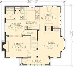 1000 images about cape cod floorplans on pinterest cape for Small tudor house plans