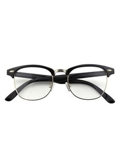 d47f30bd5e0 Happy Store CN56 Vintage Inspired Classic Horn Rimmed Nerd Wayfarers UV400  Clear Lens Glasses - Glossy Black - C211X5YPS5H