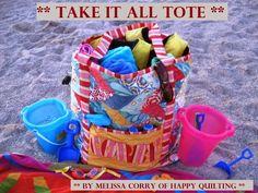 Patchwork en Casa - Anna&Patchwork: Propuesta: Bolsa para la playa