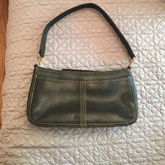 ADRIENNE VITTADINI handbag green VINTAGE Vintage almost like new. Very clean inside, very nice outside.   Color may vary from screen to screen. NO RETURNS OR TRADES SMOKE/PET FREE HOME. Adrienne Vittadini Bags