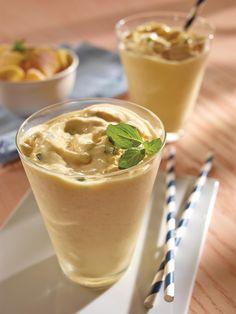 Smoothie de mango y menta (sin lactosa)