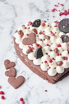 Na vidličku: Sušenkový dort Oreos, Gingerbread Cookies, Cake, Inspiration, Food, Gingerbread Cupcakes, Biblical Inspiration, Kuchen, Essen
