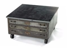 Industrial Steel Coffee Table By Go Home Ltd. 12350