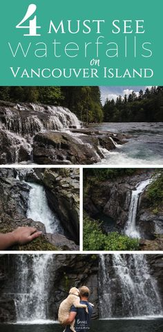 4 Must See Waterfalls in Northern Vancouver Island! If you ever find yourself near the Courtenay/Comox area, definitely add these to your 'Must Do' list! Victoria Vancouver Island, Vancouver Travel, Lanai Island, Island Beach, Island Map, Tonga, Best Island Vacation, Where Is Bora Bora, Fiji Travel