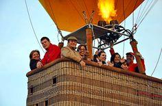 ¿Produce miedo o vértigo el despegue?  http://www.facebook.com/siempreenlasnubes.volarenglobo  Más información y reservas: http://www.siempreenlasnubes.com