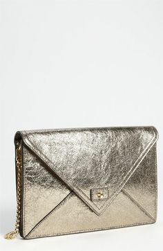 Milly 'Lola' Envelope Clutch available at #Nordstrom. Evening out.