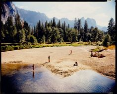 Stephen Shore, Merced River, Yosemite, National Park, California, 1979.