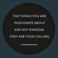 AlmostRawVegan.com ~ Oh my yes, how true! What are you passionate about? ;-) ♡♡