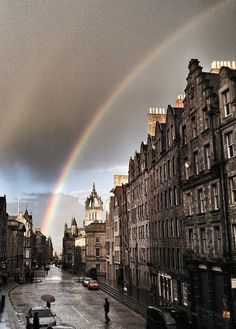 The Royal Mile, Edinburgh, Scotland ~
