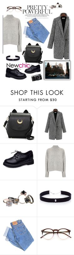 """""""NEWCHIC"""" by magi-418 ❤ liked on Polyvore featuring Frame Denim, Made Her Think, AS29, Levi's, Wildfox, chic, New and newchic"""
