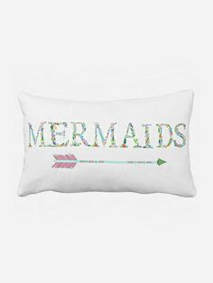 Pillow Cover Beach Decor Mermaids
