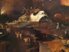 Bosch Jheronimus (style of) - Christ's Descent into Hell | by ros_with_a_prince