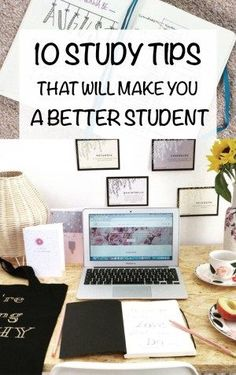 10 Study Tips That Will Make You a Better Student As uni students, we tend to push studying until the last second. Here are 10 study tips that will make you a better student and improve your marks! Study Tips For High School, Life Hacks For School, School Tips, Law School, College Study Tips, Uni Life, College School, College Students, School Ideas