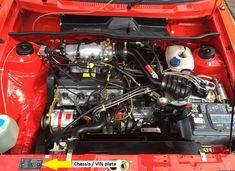 """MK1 Golf GTI """"Campaign"""" edition Engine bay"""