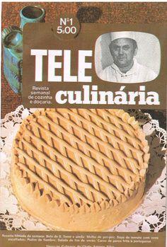 As Receitas da Avó Helena e da Avó Eduarda: A 1ª receita do 1º número da famosa revista TeleCulinária
