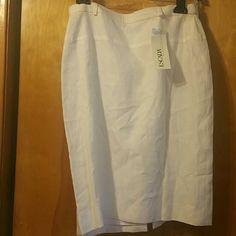 Escada skirts Memorial weekend special Beautiful white Escada skirt for the summer Escada Skirts Pencil