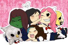 Yandere High School- Sookie, SoulOwl, Salex, Chan-Yandere, Invader, and SirCutieYuki
