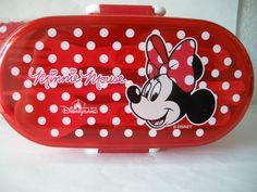 Disney ~ NEW Mini Mouse Bento Box ~ Hong Kong Disneyland Theme Park