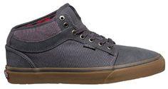 Vans Mens Chukka Midtop Skateboarding Sneakers Marble Black cb30a9e19af