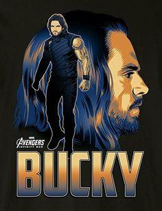 [#Cine] AVENGERS: INFINITY WAR Tenemos pósters para cada uno de los protagonista de la película #AvengersInfinityWar . #NeerksTV #Avengers #Bucky