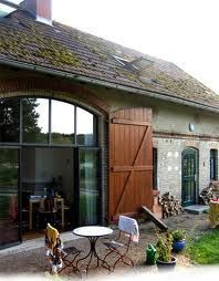 Scheune Mehr - March 13 2019 at 10:59PM Converted Barn, Barn Renovation, Barn Living, Interior Barn Doors, Exterior Design, Future House, Interior Architecture, House Plans, New Homes
