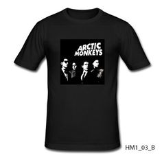 Arctic Monkeys T-shirt Slim Fit 100% Cotton English Rock Band Indie Rock Garage Rock