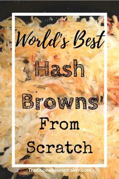 Tea home made hash browns, shredded potatoes recipes hash browns, chees. Hash Brown Egg Casserole, Hash Brown Egg Cups, Hashbrown Breakfast Casserole, Breakfast Quiche, Shredded Hash Browns, How To Store Potatoes, Cheesy Hashbrowns, Brown Recipe, Shredded Potatoes