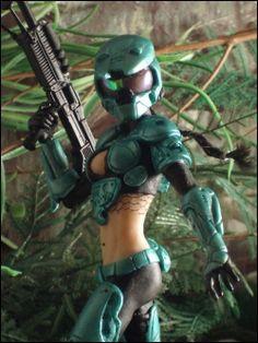 Sexy Female Master Chief - Halo