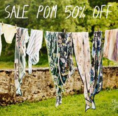 Laatste stuks Pom sjaals nu voor de helft. #sale #pomamsterdam #50%korting #sjaal #summer #women