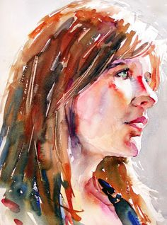 David Lobenberg: Watercolor portraits from ye old Lobenberg archive
