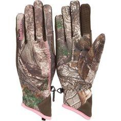 Huntworth Omega Ladies' Performance Fleece Hunting Gloves, Medium/Large - Walmart.com