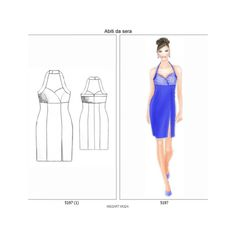 Scarica e stampa adesso cartamodelli gratuiti - www.missart-moda.it Sewing Projects For Beginners, E Design, Strapless Dress, Summer Dresses, Blog, Fashion, Sewing Patterns, Strapless Gown, Moda