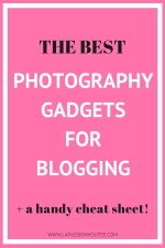 Here are the top photography gadgets recommended for bloggers that would set you up to start taking remarkable photos for your blog at an affordable price.