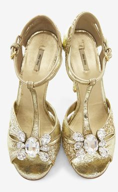 0d8772c642a So pretty and romantic shoes if they can be that. Gold