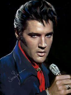 Elvis Art By Sara Lynn