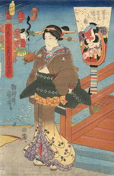浮世絵に描かれた江戸時代のジャニオタ 歌川国芳「役者気取贔屓びいき