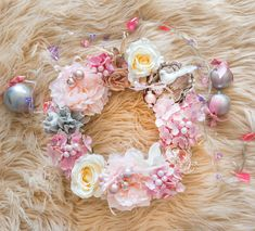 Garlands, Floral Wreath, Romantic, Wreaths, Christmas, Home Decor, Yule, Homemade Home Decor, Xmas