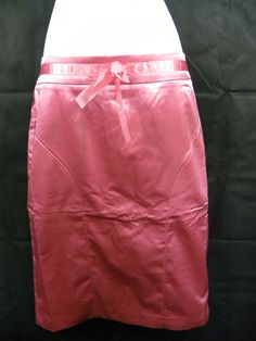 NEW LADIES SKIRT BY NAUGHTY SIZE 12. COLOUR  LIPSTICK/PINK.