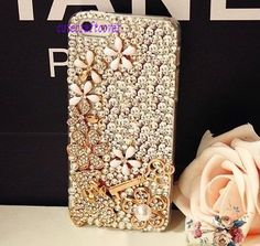 clean iPhone 5 case sparkly swarovski iphone 4 por cutecraftcover