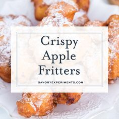 Homemade apple fritters are no easier than this recipe for apple fritters! Surrounded by a cakey batter and sprinkled with frosting, they are perfectly sweet! Homemade apple fritters are no easier than this recipe for apple fritters! Apple Fritter Recipes, Apple Fritter Bread, Apple Fritters, Donut Recipes, Apple Recipes, Fall Recipes, Sweet Recipes, Cooking Recipes, Pastry Recipes