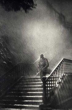 """René Jacques - L'homme de la Nuit, sur le tournage de """"Remorques"""", 1939"""
