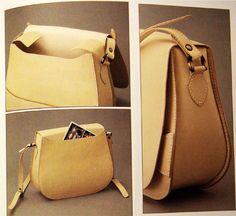 Оригинальные идеи сумок шьём сами из кожи