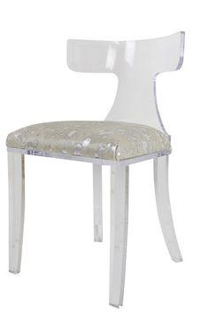 trousdale lucite chair