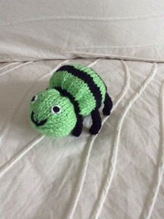Knitted Spider Soft Toy  Spider Kids Toy  by EightLittleFingers, $10.00